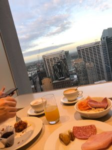Hilton Sydney - executive lounge