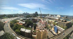 Shangri-La Sydney - view
